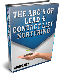 Lead and Contact List Nurturing